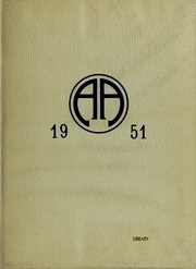 Abbot Academy - Circle Yearbook (Andover, MA) online yearbook collection, 1951 Edition, Cover