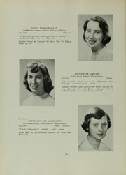 Abbot Academy - Circle Yearbook (Andover, MA) online yearbook collection, 1951 Edition, Page 20