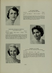 Abbot Academy - Circle Yearbook (Andover, MA) online yearbook collection, 1951 Edition, Page 39