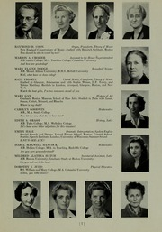 Abbot Academy - Circle Yearbook (Andover, MA) online yearbook collection, 1952 Edition, Page 11