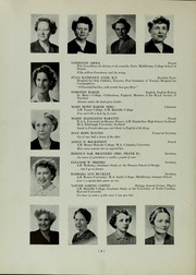 Abbot Academy - Circle Yearbook (Andover, MA) online yearbook collection, 1953 Edition, Page 12