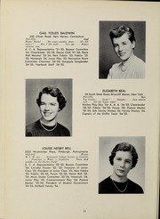 Abbot Academy - Circle Yearbook (Andover, MA) online yearbook collection, 1955 Edition, Page 20