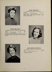 Abbot Academy - Circle Yearbook (Andover, MA) online yearbook collection, 1955 Edition, Page 21 of 96