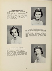 Abbot Academy - Circle Yearbook (Andover, MA) online yearbook collection, 1955 Edition, Page 24