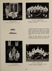 Abbot Academy - Circle Yearbook (Andover, MA) online yearbook collection, 1956 Edition, Page 67