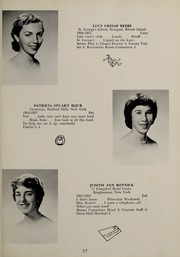 Abbot Academy - Circle Yearbook (Andover, MA) online yearbook collection, 1957 Edition, Page 21