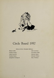 Abbot Academy - Circle Yearbook (Andover, MA) online yearbook collection, 1957 Edition, Page 5