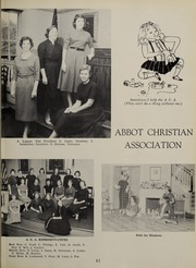 Abbot Academy - Circle Yearbook (Andover, MA) online yearbook collection, 1957 Edition, Page 65