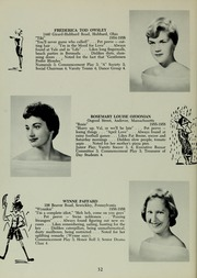 Abbot Academy - Circle Yearbook (Andover, MA) online yearbook collection, 1958 Edition, Page 36