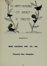 Abbot Academy - Circle Yearbook (Andover, MA) online yearbook collection, 1958 Edition, Page 83