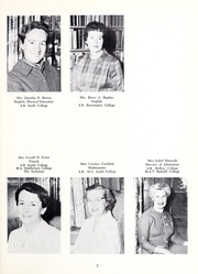 Abbot Academy - Circle Yearbook (Andover, MA) online yearbook collection, 1961 Edition, Page 11