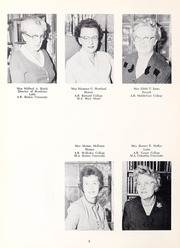 Abbot Academy - Circle Yearbook (Andover, MA) online yearbook collection, 1961 Edition, Page 12