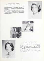Abbot Academy - Circle Yearbook (Andover, MA) online yearbook collection, 1961 Edition, Page 23