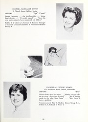 Abbot Academy - Circle Yearbook (Andover, MA) online yearbook collection, 1961 Edition, Page 27
