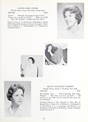 Abbot Academy - Circle Yearbook (Andover, MA) online yearbook collection, 1961 Edition, Page 45