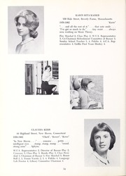 Abbot Academy - Circle Yearbook (Andover, MA) online yearbook collection, 1962 Edition, Page 38