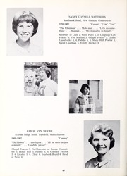 Abbot Academy - Circle Yearbook (Andover, MA) online yearbook collection, 1962 Edition, Page 44