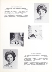 Abbot Academy - Circle Yearbook (Andover, MA) online yearbook collection, 1962 Edition, Page 47