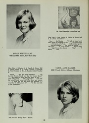 Abbot Academy - Circle Yearbook (Andover, MA) online yearbook collection, 1964 Edition, Page 22 of 108