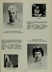 Abbot Academy - Circle Yearbook (Andover, MA) online yearbook collection, 1964 Edition, Page 23