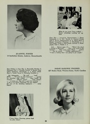 Abbot Academy - Circle Yearbook (Andover, MA) online yearbook collection, 1964 Edition, Page 32