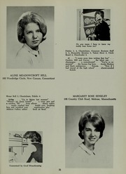 Abbot Academy - Circle Yearbook (Andover, MA) online yearbook collection, 1964 Edition, Page 35