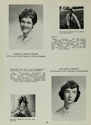 Abbot Academy - Circle Yearbook (Andover, MA) online yearbook collection, 1964 Edition, Page 36