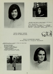 Abbot Academy - Circle Yearbook (Andover, MA) online yearbook collection, 1965 Edition, Page 38