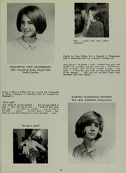 Abbot Academy - Circle Yearbook (Andover, MA) online yearbook collection, 1966 Edition, Page 23