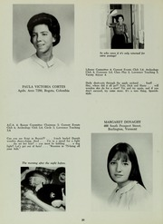 Abbot Academy - Circle Yearbook (Andover, MA) online yearbook collection, 1966 Edition, Page 24