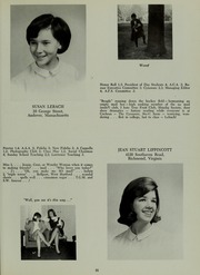 Abbot Academy - Circle Yearbook (Andover, MA) online yearbook collection, 1966 Edition, Page 35
