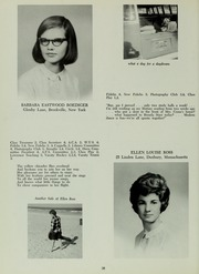 Abbot Academy - Circle Yearbook (Andover, MA) online yearbook collection, 1966 Edition, Page 42