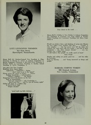 Abbot Academy - Circle Yearbook (Andover, MA) online yearbook collection, 1966 Edition, Page 49