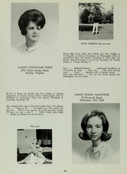 Abbot Academy - Circle Yearbook (Andover, MA) online yearbook collection, 1966 Edition, Page 50
