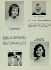 Abbot Academy - Circle Yearbook (Andover, MA) online yearbook collection, 1966 Edition, Page 52