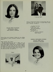 Abbot Academy - Circle Yearbook (Andover, MA) online yearbook collection, 1966 Edition, Page 53
