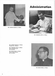 Page 10, 1971 Edition, Abbot Pennings High School - Argos Yearbook (De Pere, WI) online yearbook collection