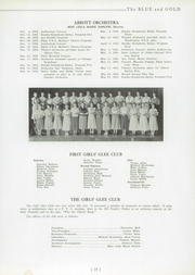 Abbott High School - Blue and Gold Yearbook (Elgin, IL) online yearbook collection, 1934 Edition, Page 27