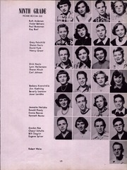 Abbott Junior High School - Blue and Gold Yearbook (Elgin, IL) online yearbook collection, 1952 Edition, Page 17