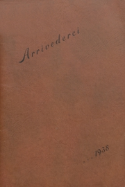 Aberdeen High School - Arrivederci Yearbook (Aberdeen, MD) online yearbook collection, 1938 Edition, Cover