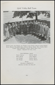Aberdeen High School - Arrivederci Yearbook (Aberdeen, MD) online yearbook collection, 1938 Edition, Page 33