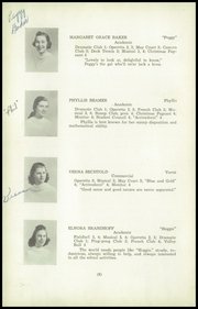 Aberdeen High School - Arrivederci Yearbook (Aberdeen, MD) online yearbook collection, 1940 Edition, Page 12