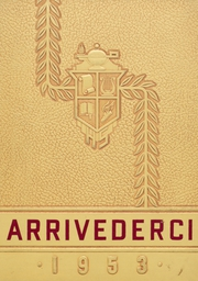 Aberdeen High School - Arrivederci Yearbook (Aberdeen, MD) online yearbook collection, 1953 Edition, Cover