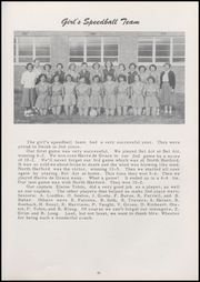 Aberdeen High School - Arrivederci Yearbook (Aberdeen, MD) online yearbook collection, 1954 Edition, Page 47
