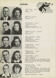 Abilene Chrisitian High School - Cactus Yearbook (Abilene, TX) online yearbook collection, 1946 Edition, Page 22