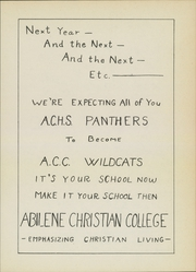 Abilene Chrisitian High School - Cactus Yearbook (Abilene, TX) online yearbook collection, 1947 Edition, Page 77