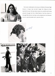 Abilene Chrisitian High School - Cactus Yearbook (Abilene, TX) online yearbook collection, 1974 Edition, Page 9