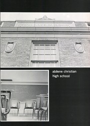 Page 15, 1975 Edition, Abilene Chrisitian High School - Cactus Yearbook (Abilene, TX) online yearbook collection