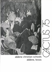 Page 7, 1975 Edition, Abilene Chrisitian High School - Cactus Yearbook (Abilene, TX) online yearbook collection