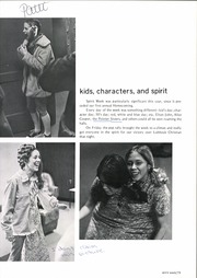 Abilene Chrisitian High School - Cactus Yearbook (Abilene, TX) online yearbook collection, 1975 Edition, Page 85